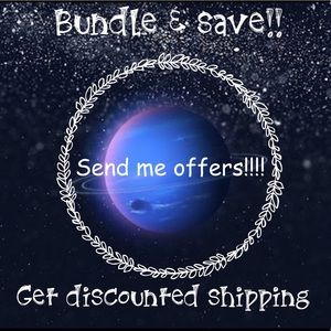 ✨🌜 SEND ME OFFERS! BUNDLE & SAVE 🌛✨